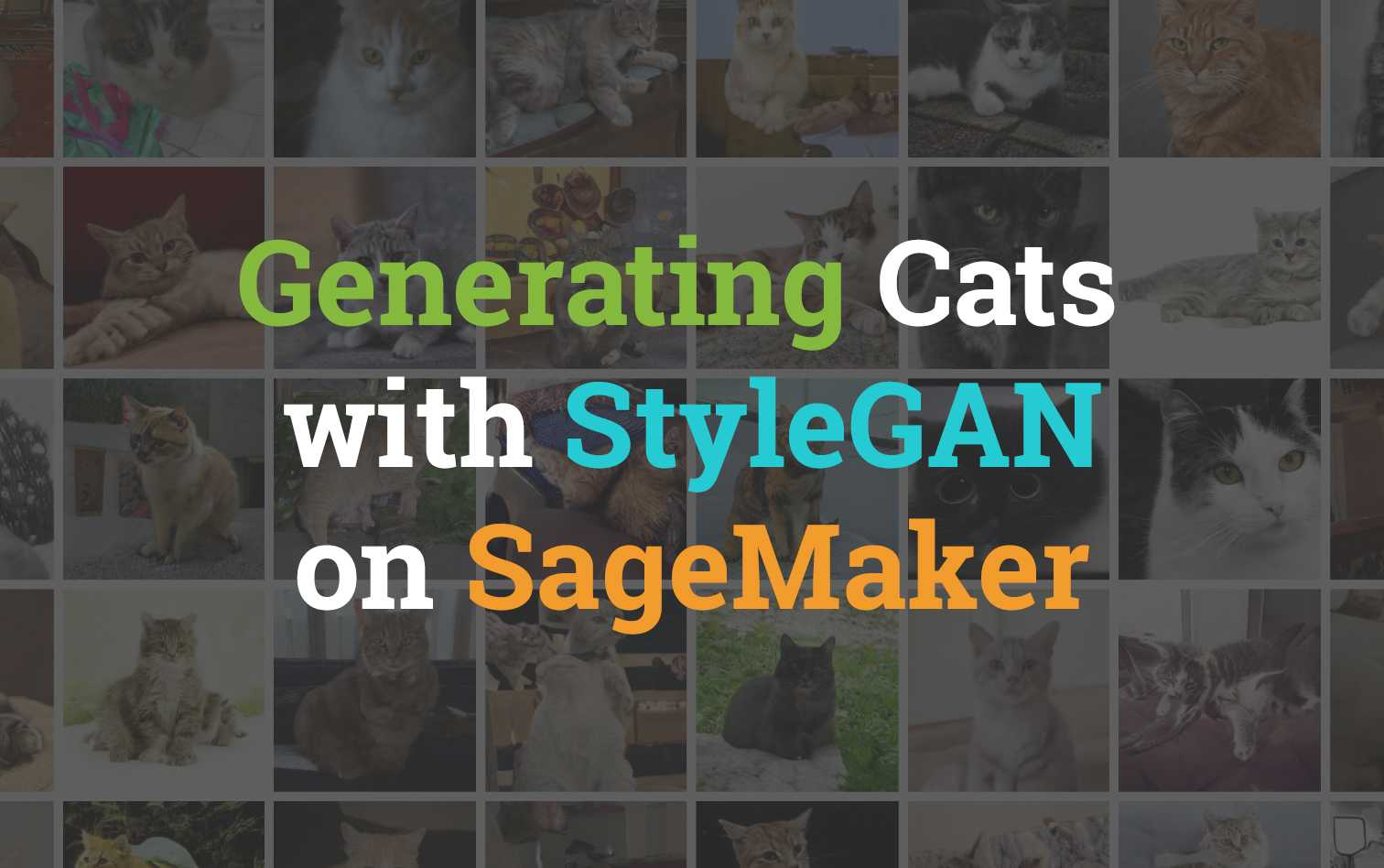 Generating Cats with StyleGAN on AWS SageMaker