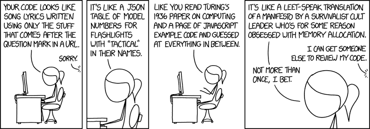 Code Quality 3 - XKCD